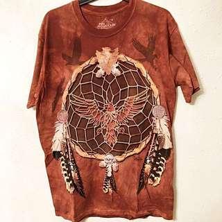Man T-shirt - America Native Dream Catcher
