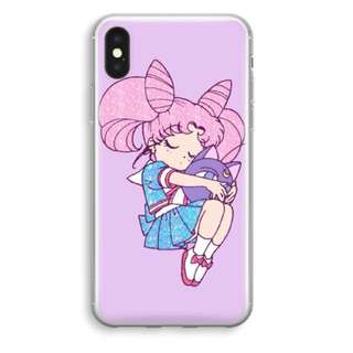 Chibiusa Sailor Moon iPhone X Soft Plastic Case/Cover