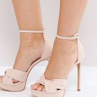 Aldo Ameline pink cross heels