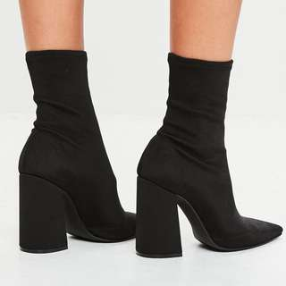 Size 9 Pointed Toe Stretch Booties PICK UP BEFORE MARCH 15