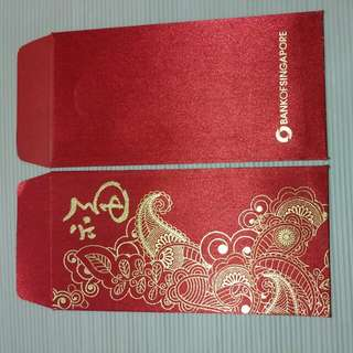 Red Packet - Bank Of Singapore