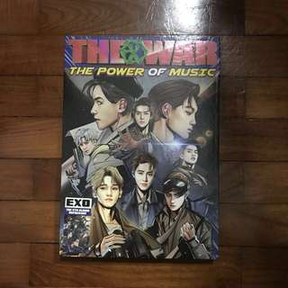 Exo the war repackage album (unsealed)