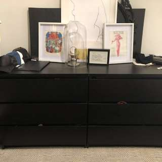 Ikea malm dressers PICK UP BEFORE MARCH 15