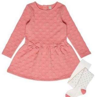 9m to 12m Pink Dress