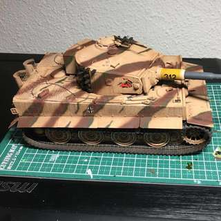 Finished Tiger Late Ver. Display Model