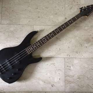 Grover Jackson PJ Japan Market Electric Bass Guitar Black Rare Discontinued Precision Jazz