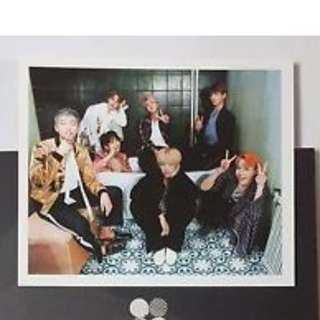 ON HAND PHOTOCARD BTS Vol. 2 – Wings - Group (with minimal dents at the back)
