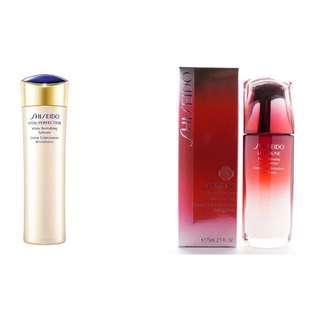 Shiseido Vital-perfection White Revitalizing Softener  150ml + shiseido ultimate power infusing concentrate 75ml