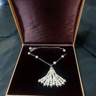 全新,珍珠頸鏈,適合結婚晚宴