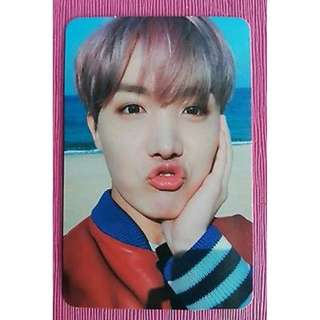 ON HAND PHOTOCARD BTS - You Never Walk Alone - Hoseok