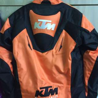 KTM Body Armour to let go