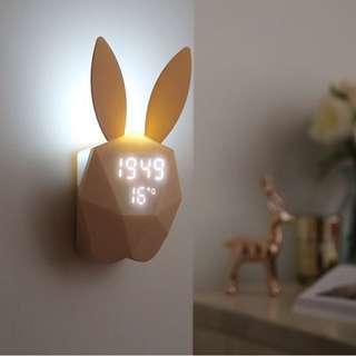 兔子聲控鬧鐘