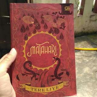 Novel matahari by Tere Liye