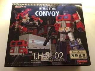 Transformer Optimus Prime THS 02 河森正治 柯柏文