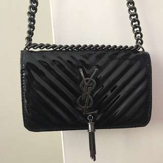 Similar to yves saint laurent x never been used x long leather and chain shoulder strap