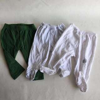 Preloved Baby at home clothing, 0-6mo