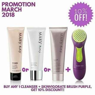 Mary Kay Cleanser Set