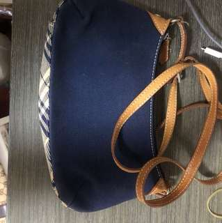 Burberry blue label 小巧兩用手袋