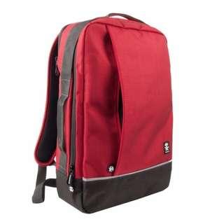 **SALES** Crumpler Proper Roady Backpack L Deep Red / Black / Navy  / Green Moss