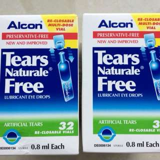 New Alcon Tears Naturale eye drops