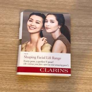Clarins Shaping Facial Range sample set