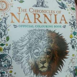 Narnia coloring book