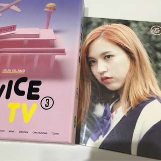 Twice mina tv3 set