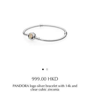 全新 Pandora 手鏈,有單連盒