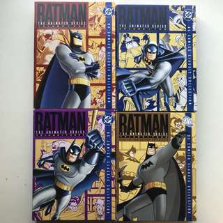 Batman the Animated series DVD set
