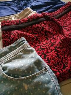 Bundle short pants