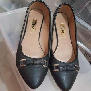 Figlia Black Basic Flats