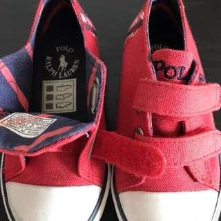 RL toddler shoes