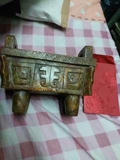 中國老玉(玉製香爐)