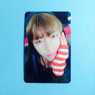 ON HAND PHOTOCARD  BTS - You Never Walk Alone - Taehyung