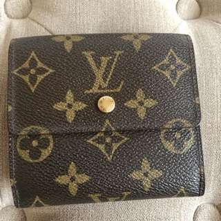 REPRICE Preloved vintage Louis Vuitton Wallet