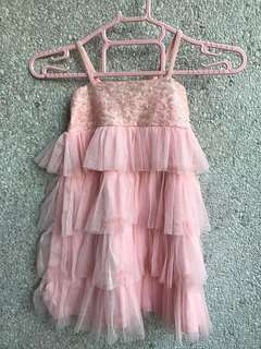 Layered Pink Dress