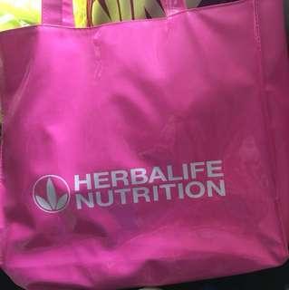 康寶萊粉紅色袋