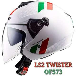 LS2 OF 537 dual visor Helmet
