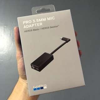 Gopro Hero 5 3.5mm mic adapter