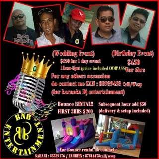 Karaoke/Music Event Entertainer