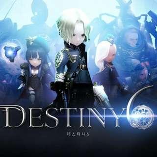 Destiny 6 Asia Account