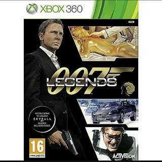 Brand New] Xbox360 007 LEGENDS (Genre: shooter/racing - players:1-4) Usual price:$49.90 Special price: $19.90 + Free Mail Postage. (Brand New In Box & Sealed) or whatsapp 85992490 to collect from any mrt STn in town today