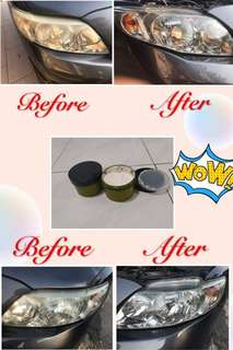 CAR HEADLIGHT POLISHER