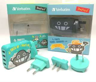 Verbatim 4port travel charger