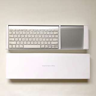 Apple Magic Keyboard and touch pad