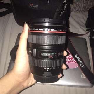Canon 24-105 F/4L Lens