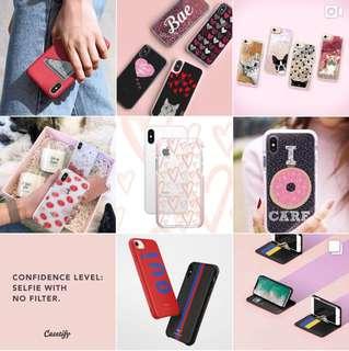 Casetify phone case (面值$383;現售$140!!)