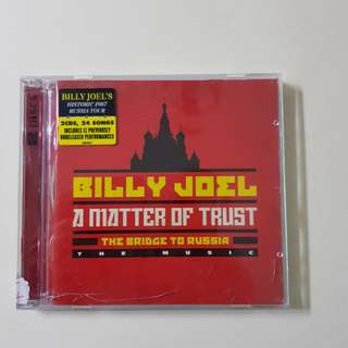 A Matter of Trust - The Bridge to Russia by Billy Joel (2 CDs)