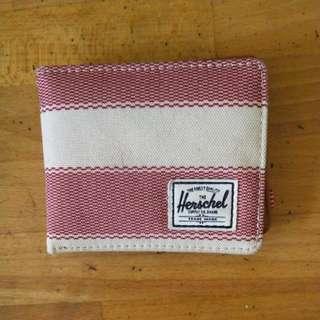Herschel紅白雙色銀包