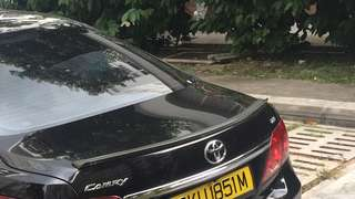 Camry Rear sporty spoiler (see picture)